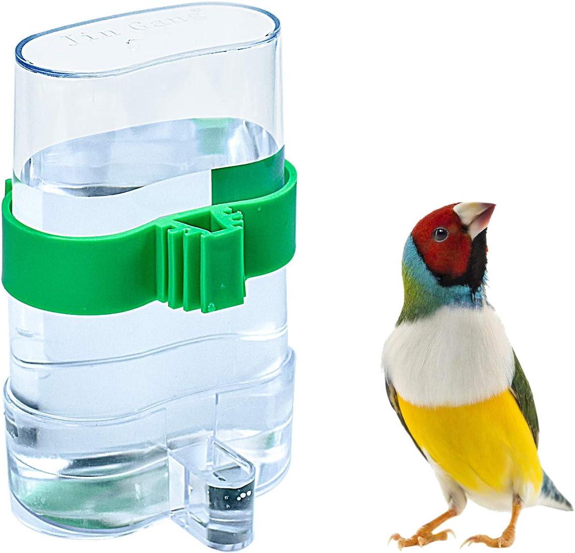 cococity Dispensador de Alimentos alimentador automático dispensador de Agua para periquitos, periquitos, cacatúas