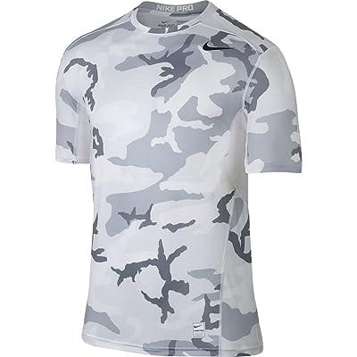 Nike Men`s Pro HyperCool Printed T-Shirt
