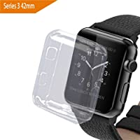 bandmax Apple Watch 3 Funda, 42mm Suave TPU