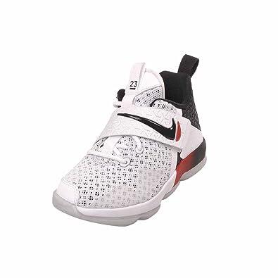 432fbfe4c1d198 ... promo code for nike lebron xiv pre school kids shoes white black size  11.5c us