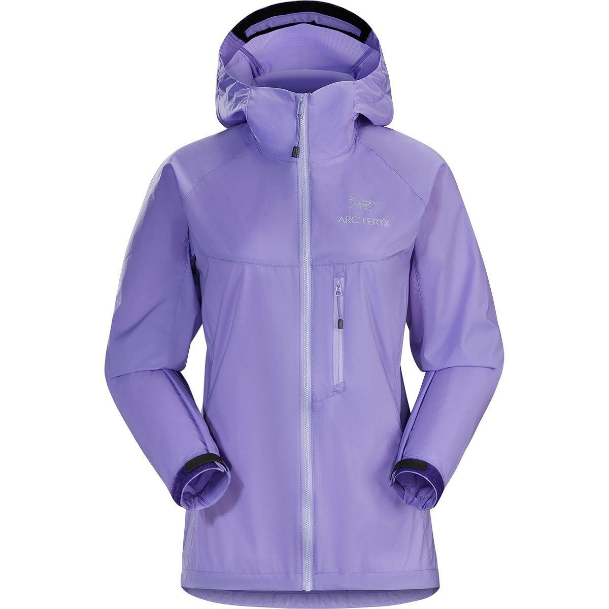 (アークテリクス) Arc'teryx Squamish Hooded Jacket レディース ジャケットHyacinth [並行輸入品] L Hyacinth B07GFBV73F