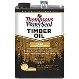 Thompson's Waterseal 048841-16 Semi-transparent Timber Oil, Walnut, 1 Gallon