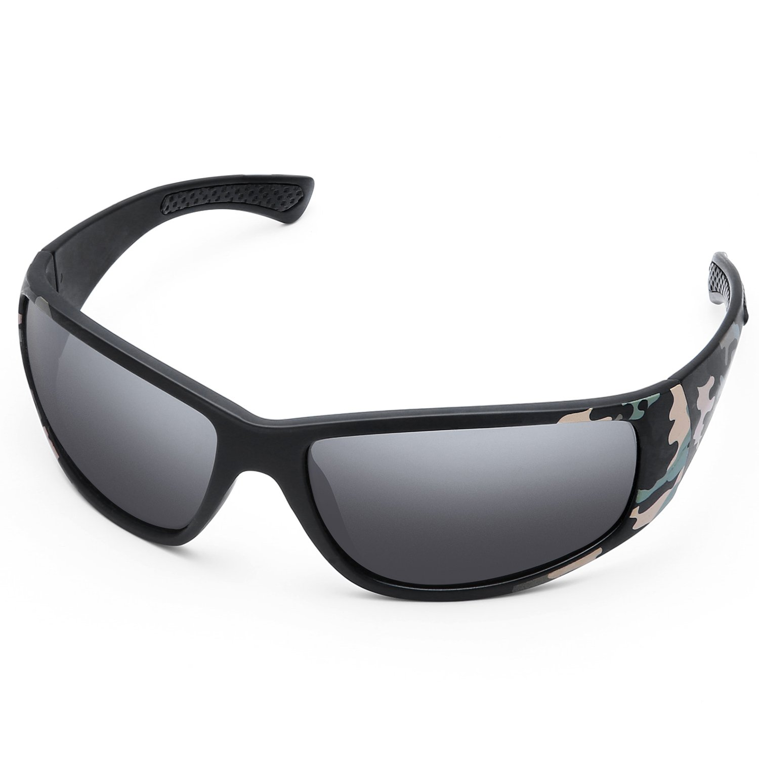 KUTOOK Polarized Sports Sunglasses for Men Women Hiking Sun Glasses LG508-004