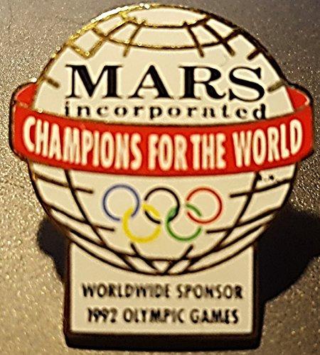 1992 Olympic Pin - MARS - Worldwide Sponsor - 1992 Olympic Pin