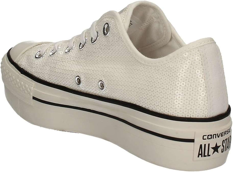 Converse 556790C Chaussures de sport Femme White Paillettes