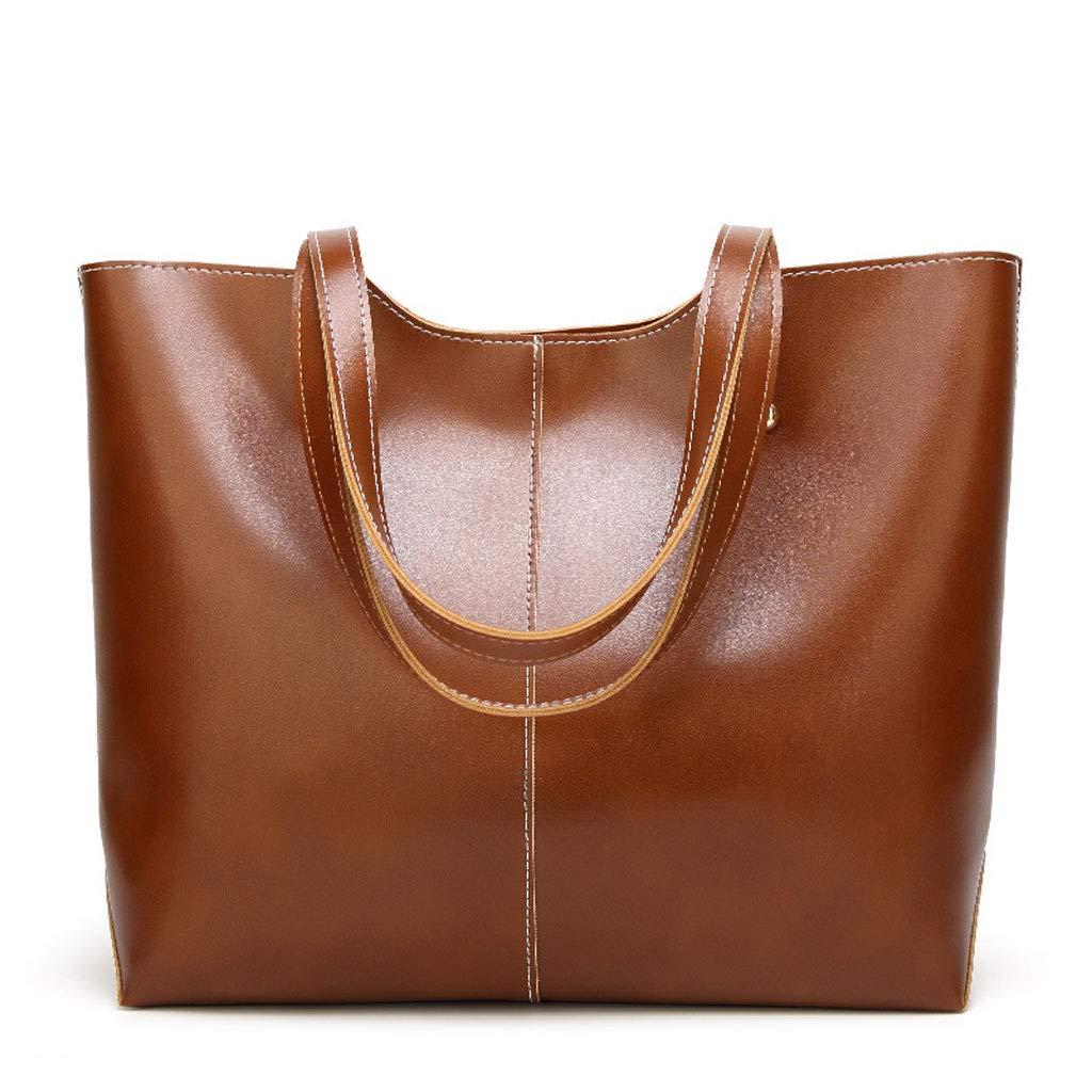 Damentasche PU PU PU Umhängetasche Wild Europa Und Die Vereinigten Staaten Mode Handtaschen Messenger Bag Handtasche (Farbe   braun) B07G55JKSZ Umhngetaschen Überlegene Qualität e51f7d