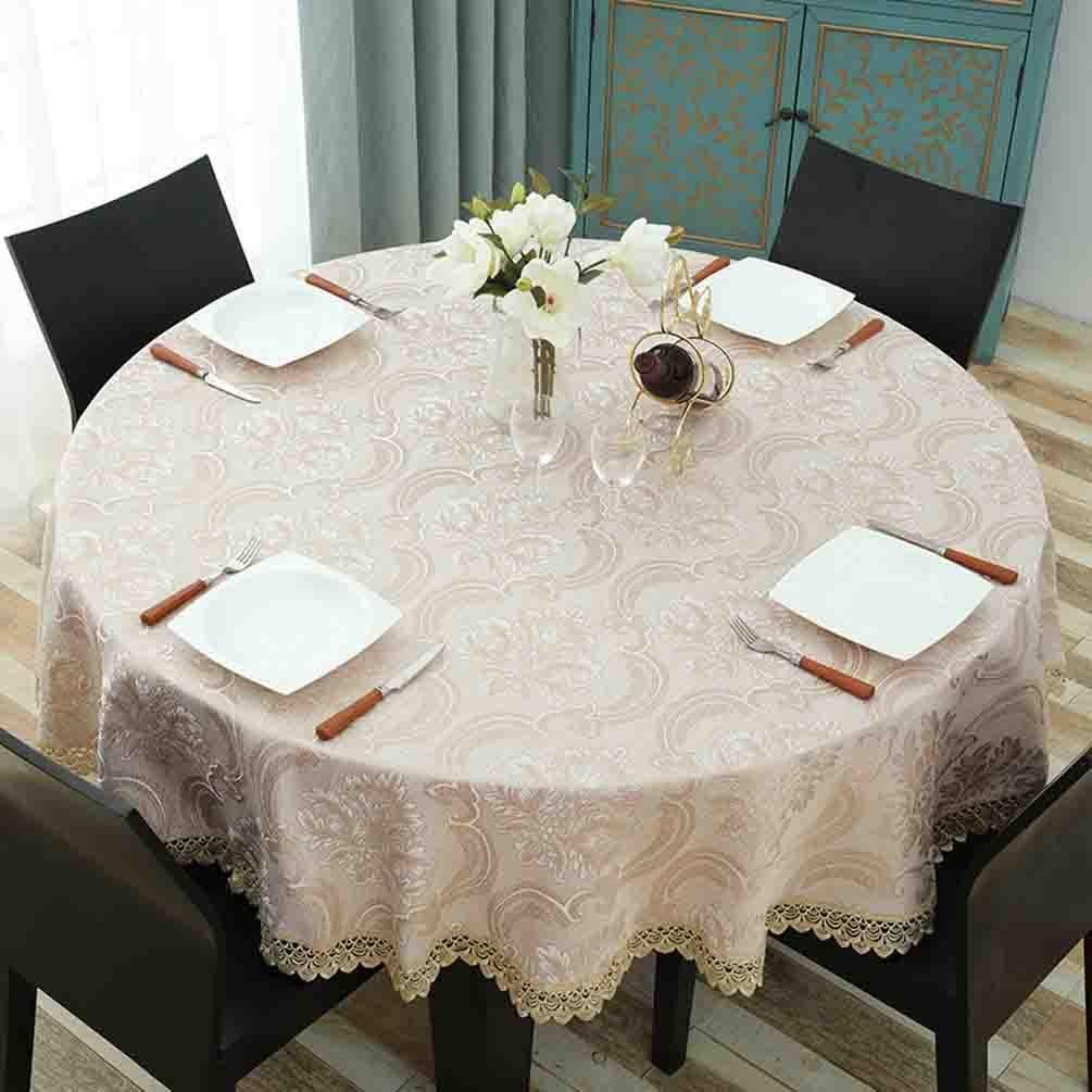 Tischdecke Runde Spitze Hohlgewebe Home Restaurant Tischset , 002 , diameter 140cm B07BMXD694 Tischdecken Neuer Stil  | Zarte