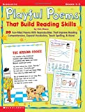 Playful Poems That Build Reading Skills, Kirk Mann, 0439113709