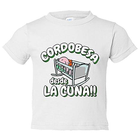 Camiseta niño Cordobesa desde la cuna Córdoba fútbol - Blanco, 3-4 años