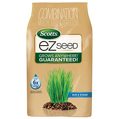 Scotts EZ Seed - Sun and Shade, 10-Pound (Grass Seed Mix) (Older Model) : Grass Plants : Garden & Outdoor