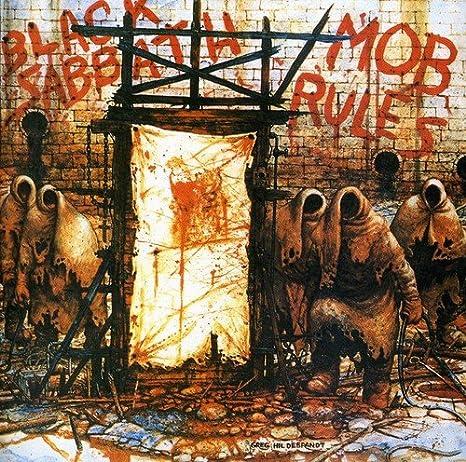 Risultati immagini per mob rules black sabbath