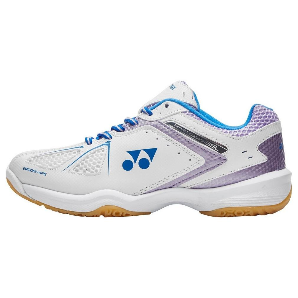Yonex Nuevo Power Cushion 35 Lad Sports Badminton Calzado Blanco, Blanco, 42