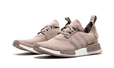 Mens Adidas NMD R1 PK French Beige Vapor Grey Tan Primeknit S81848 US 6.5