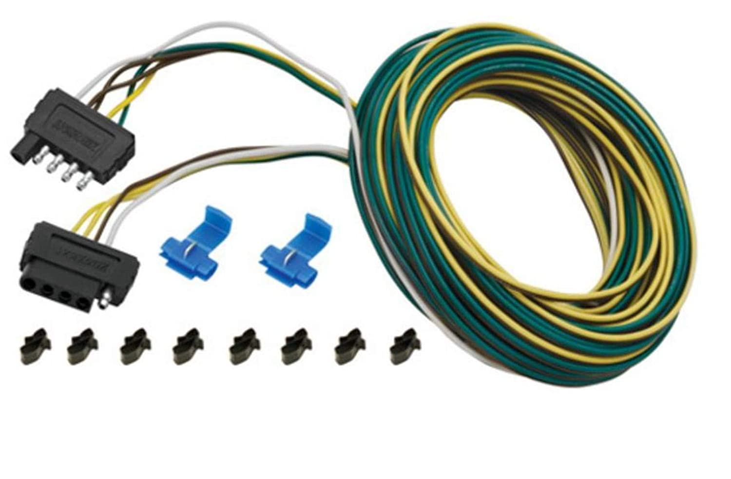 Terrific Amazon Com Wesbar 5 Way Wishbone Trailer Wiring Kit 25 Wesbar Wiring Cloud Hisonuggs Outletorg