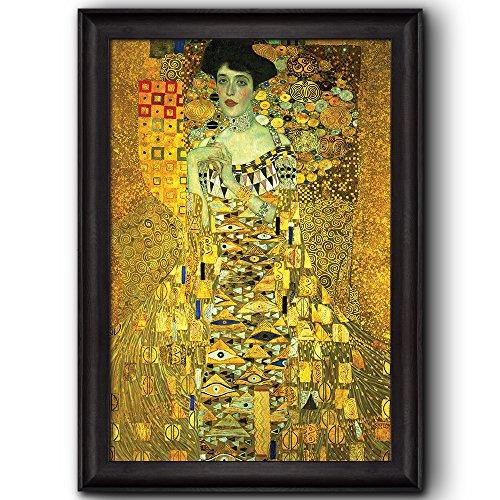 Portrait of Adele Bloch Bauer I (Woman in Gold) by Gustav Klimt Framed Art