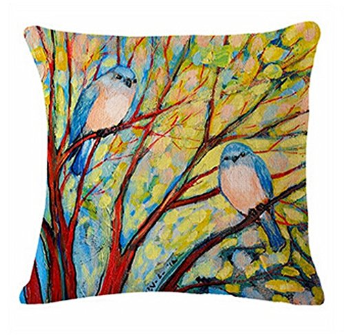 Painting illustration Vibrant Cushion Decorative