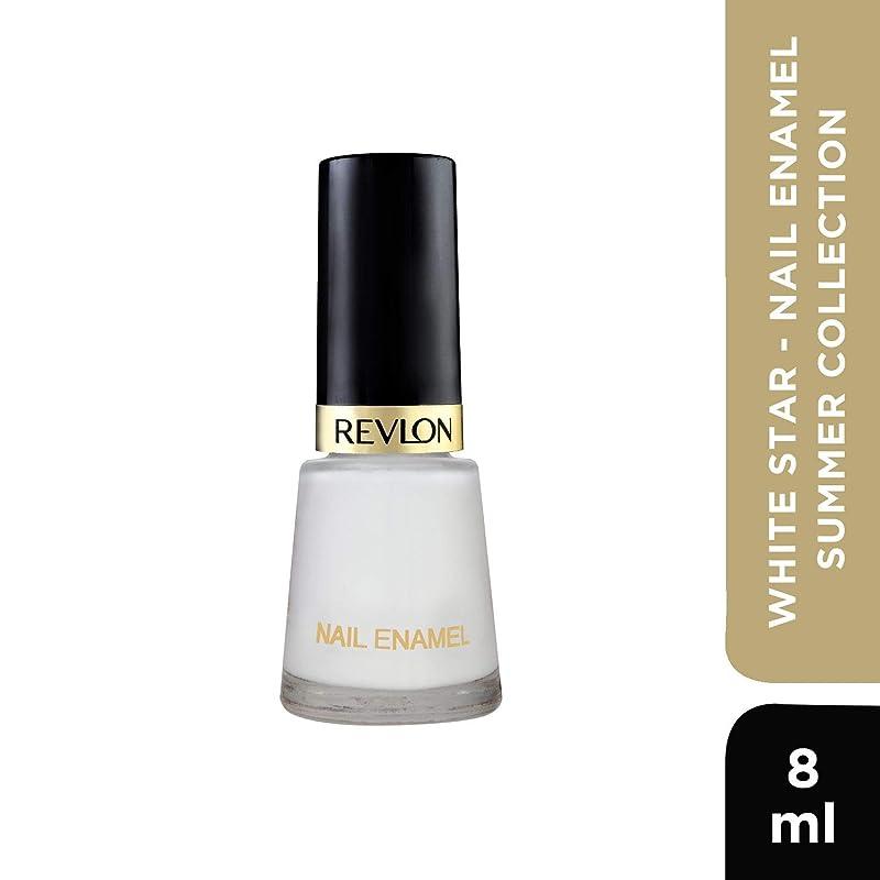 Revlon Nail Enamel, White Star, 8ml