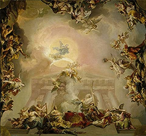 Perfect Effect Canvas ,the Replica Art DecorativeCanvas Prints Of Oil Painting 'Lopez Portana Vicente Alegoria De La Institucion De La Orden De Carlos III 1827 28 ', 12 X 13 Inch / 30 X 33 Cm Is Best For Gym Decoration And Home Artwork And - Classic Collection Adirondack Deck Chair