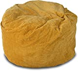 Cheap Lounge & Co Corduroy Round Foam Chair, 36-Inch, Gold