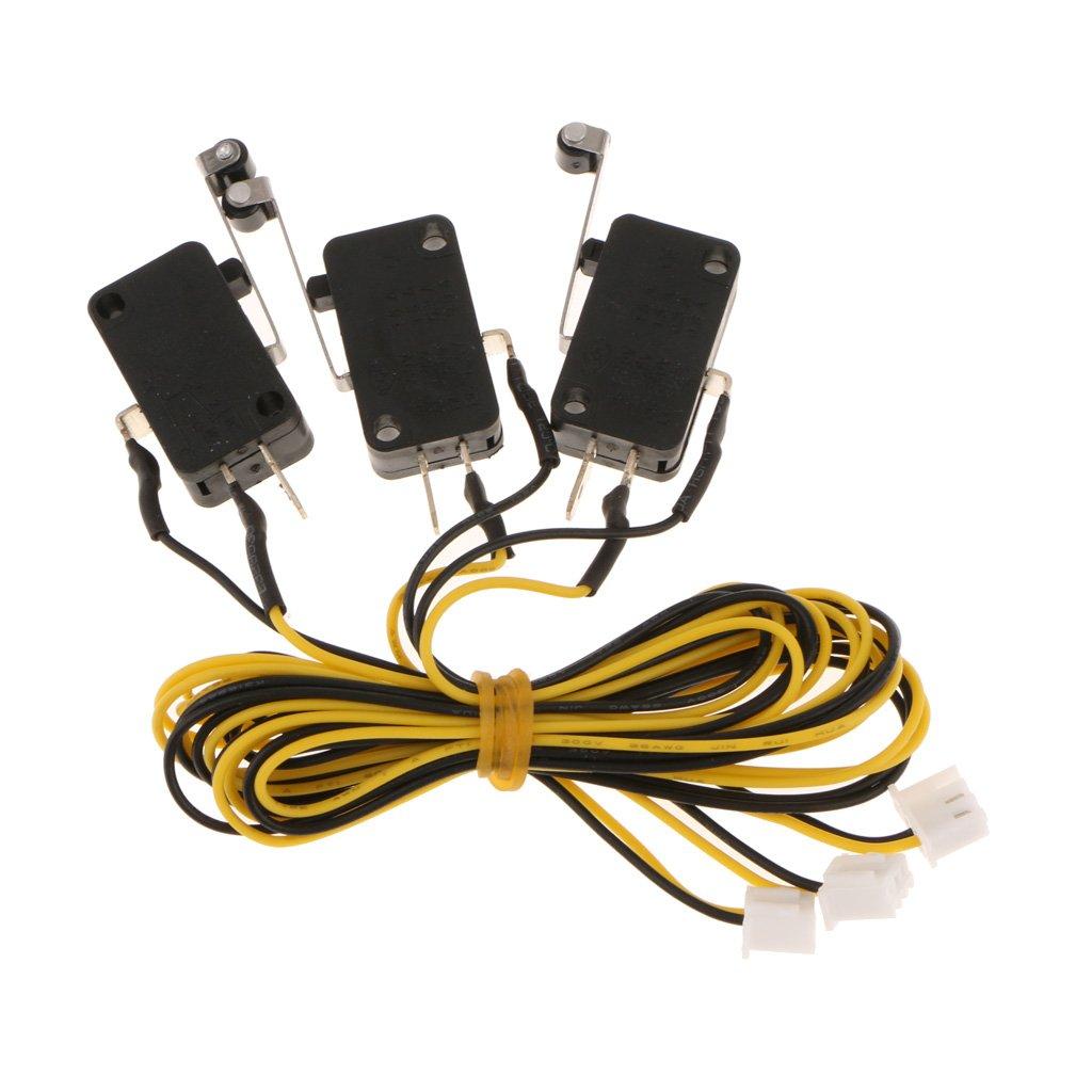 MagiDeal 3pcs Kw11-3z 5a 250v Interruptor de Límite de Brazo de ...