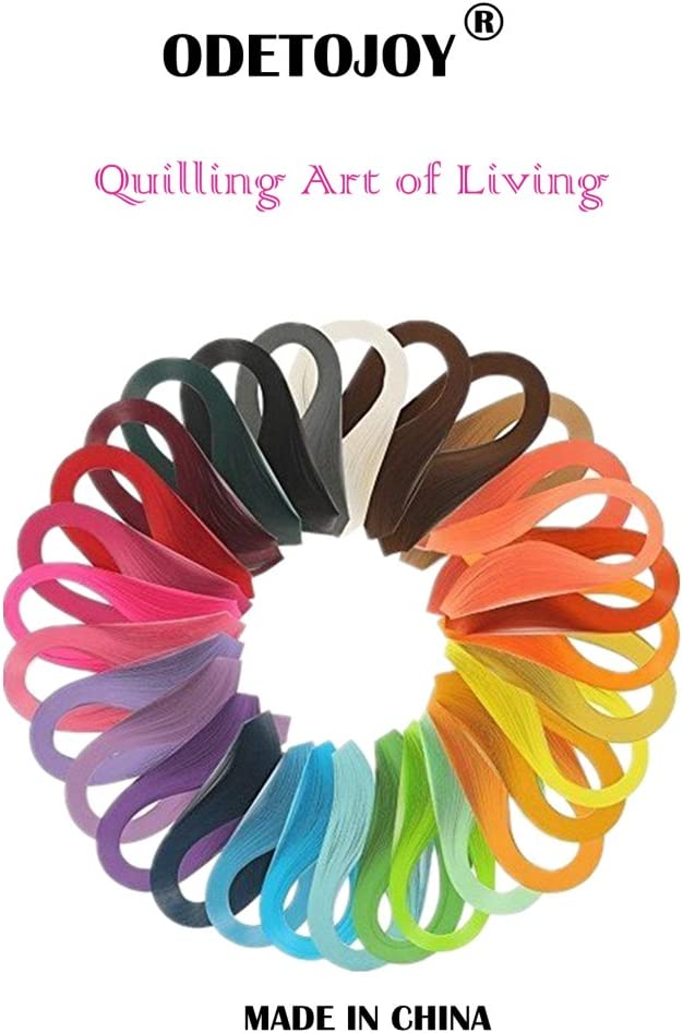 1Pc Paper Quilling Strips 260 Strips 26 Colors 39cm Length//Strips 3//5//7//10mm Width Optional Size 5mm