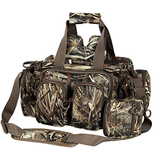 PORTAL Military Waterfowl Hunting Blind Bag 16.5 Inch Tactical Duffle with Attached Pouch and Shooting Rest Bag