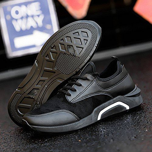Ben Sports zapatillas de deporte trail Running de hombre pare mujor F-2 Negro