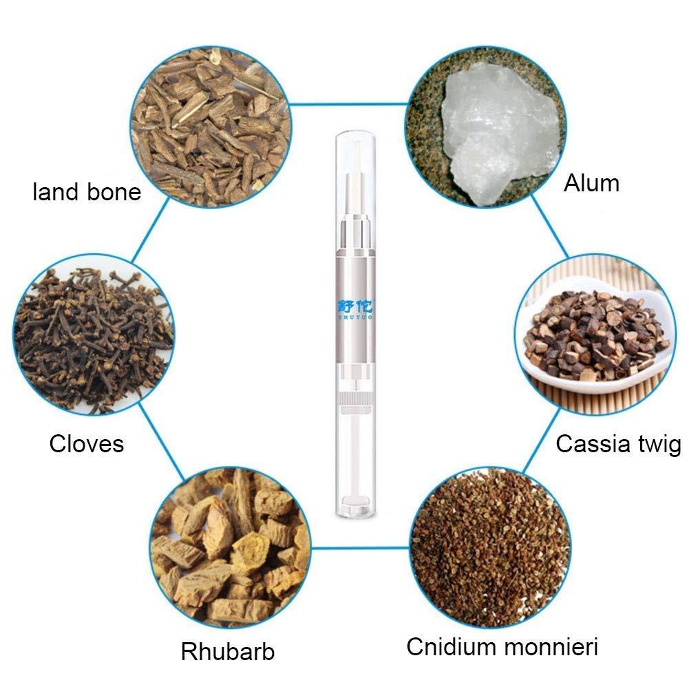 3 Pcs Advanced Nail Natural Repair Magic Pen Anti  Nail Treatment  Stop Nail Gel by MaxBeauty