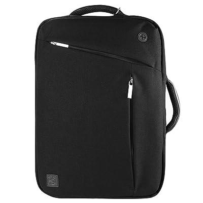 Causal Laptop Bag Messenger Bag Tablet Sleeve Shoulder Bag Backpack 11.6inch to 12.5inch for Asus Chromebook Flip / Transformer 3 Pro / Chromebook 12.5 / Fujitsu STYLISTIC (Black)