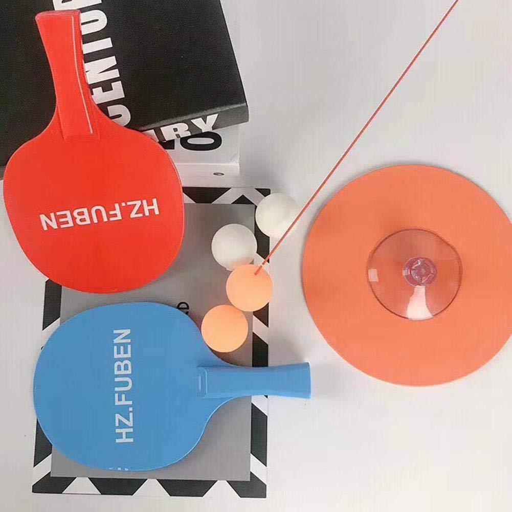 Gereton Tischtennis Trainer Indoor Kinder Spielzeug elastische weiche Achse Ping Pong Ball Training Helfer