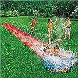 CHILDRENS KIDS SOAK N SPLASH 16' AQUA GARDEN WATER SLIDE SPRAY SPRINKER POOL TOY