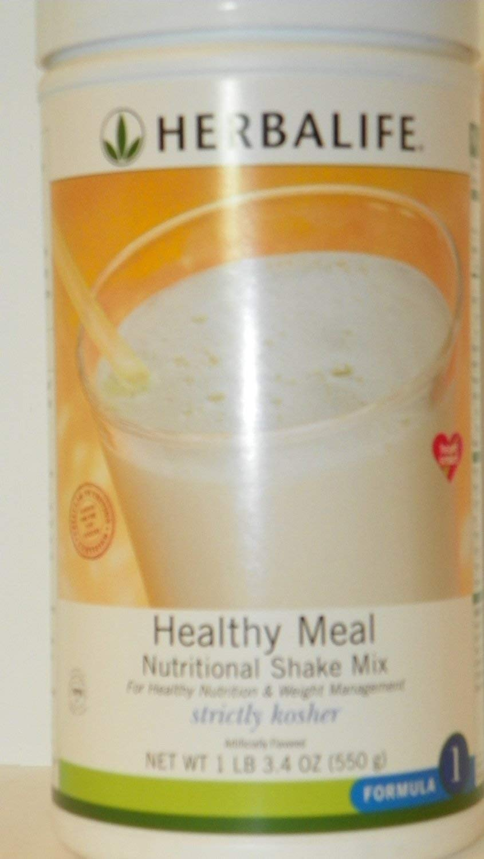 Formula 1 Healthy Meal Nutritional Shake Mix Kosher, 550 g canister