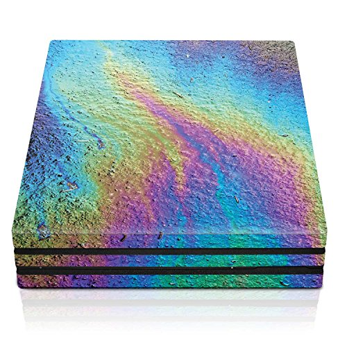 Controller Gear PS4 Pro Console Skin – Oil Slick Horizontal – PlayStation 4