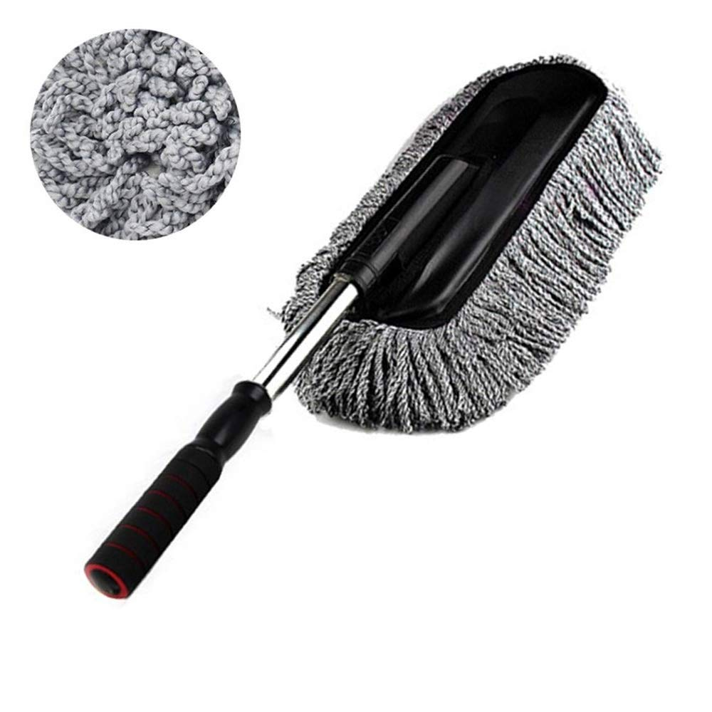 Bargain Crusader Removable Telescopic Car Wash Brush}