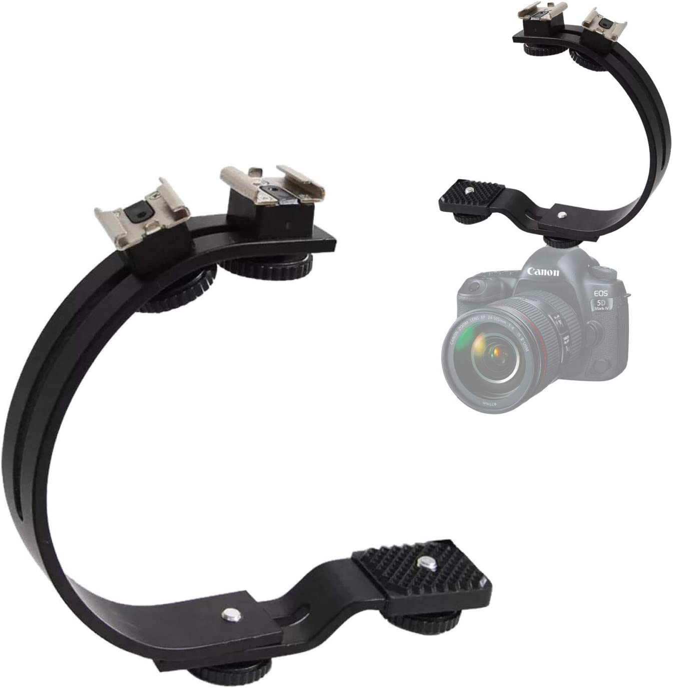 Semoic DV Hand Held C-Shaped Shooting Video Stabilizer Hand-held Low Frame Flash Stands Stabilizer