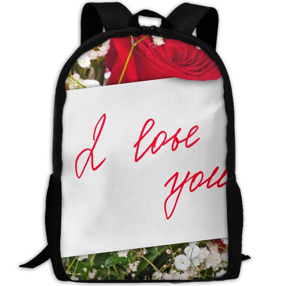 ZQBAAD Have You Ever Received A Love Letter From God Luxury Print Men And Women's Travel Knapsack