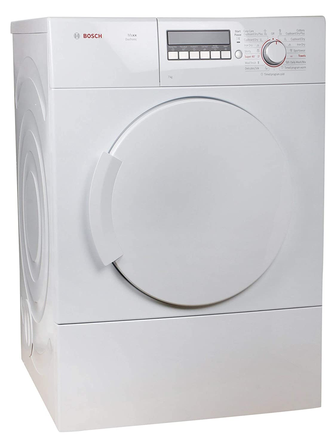 Bosch 7 Kg Dryer Wta76200in White Home Kitchen Clothes Plug Wiring Along With Page 4 Of Indesit