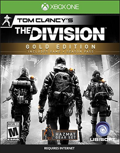 Tom Clancy's The Division (Gold Edition) - Xbox One (Co Op Role Playing Games Xbox 360)