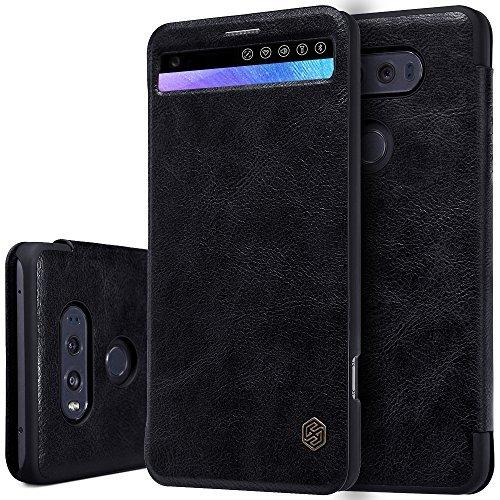 buy popular ddbc6 c1472 LG V20 Case, TJS [QIN]- [Smart Wakeup/Sleep] [ID/Credit Card ...