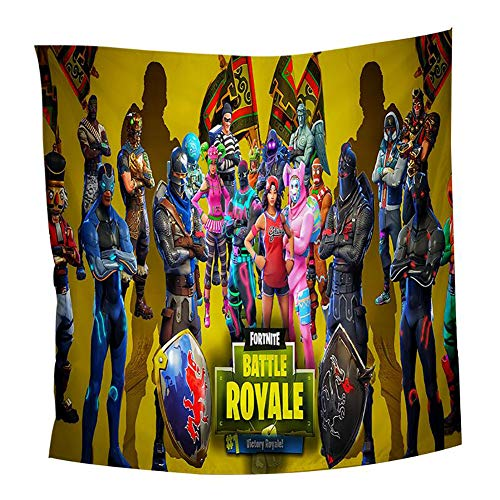 Wall Tapestry Fortnite Print Wall Art Home Decor, Bedroom Living Room Dorm Wall Hanging Tapestry for Fortnite Game Enthusiast,Style#8,150130cm