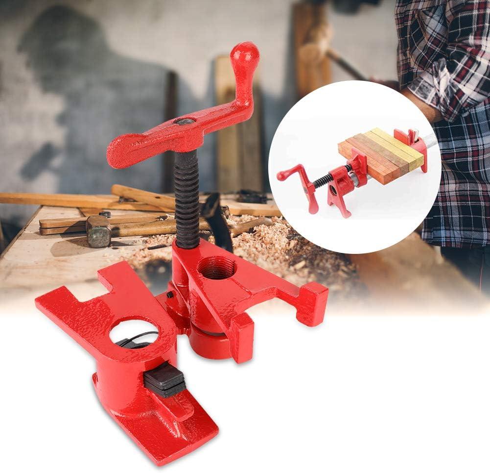 pince /à bois 3//4 Serre-joint en Tube 4 ensembles de serre-tubes /à visser /à serrage rapide bois de travail Serrage rapide Pinces en m/étal Pinces /à bois fer /à visser