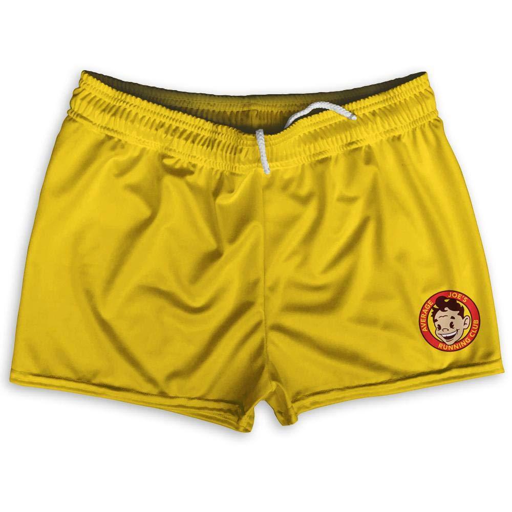 Average Joes Gym Logo Shorty Short Gym Shorts 2.5 Inseam