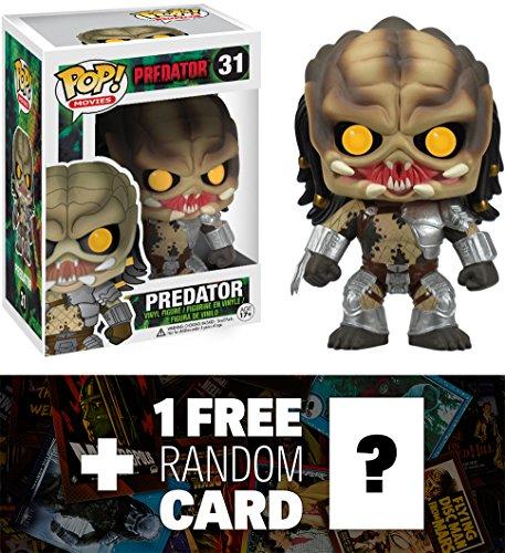 "Predator : ~4.2"" Funko POP! Movies x Predator Vinyl Figure +"