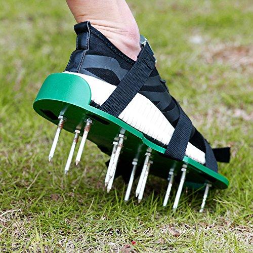 Finrezio Lawn Aerator Shoes,Spikes Lawn Aerator Sandals for Aerating by Finrezio (Image #1)
