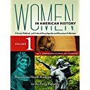 Women in American History [4 volumes]: A Social, Political, and Cultural Encyclopedia and Document Collection