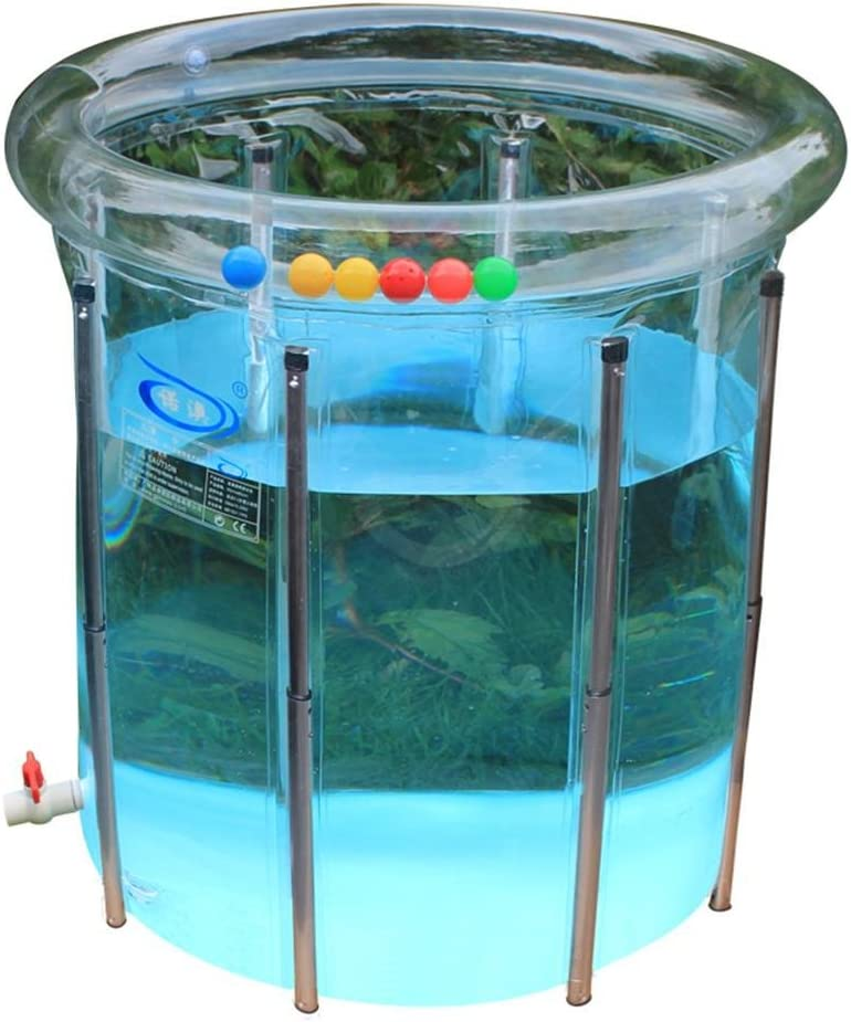 faca i888Baby de piscina de ayuda de faltende hinchable transparente de piscina de bebé infantil de Familias de bebé de Pool