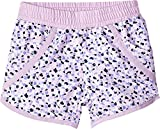 Columbia Toddler Girls' Solar Stream Ii Boardshort, Phantom Purple Mimosa Print, 4T