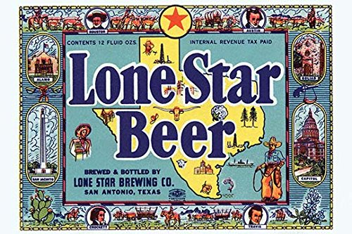 Buyenlarge Lone Star Beer - 16