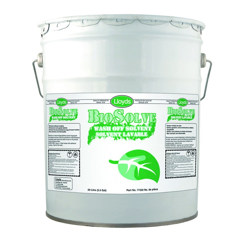 Biosolve - Label & Adhesive Remover, 77320, 20 L pail (5.25 gal) by Biosolve