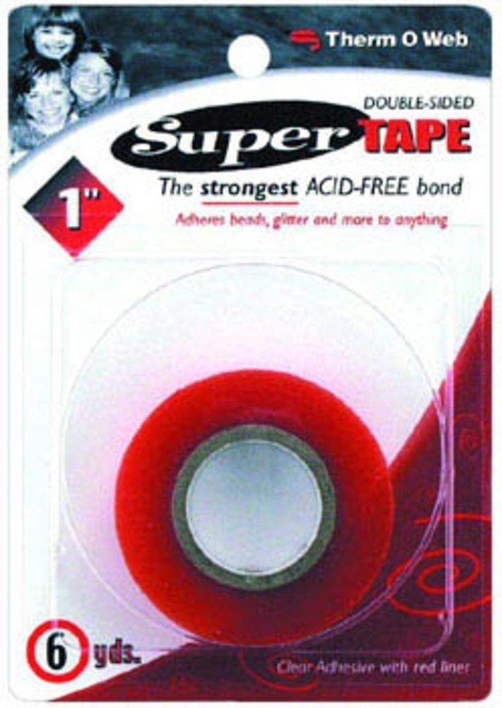 Thermoweb 1 Inch by 6 Yards Double-Sided Super Tape